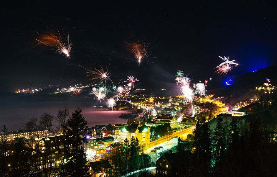 New year's in Åre.