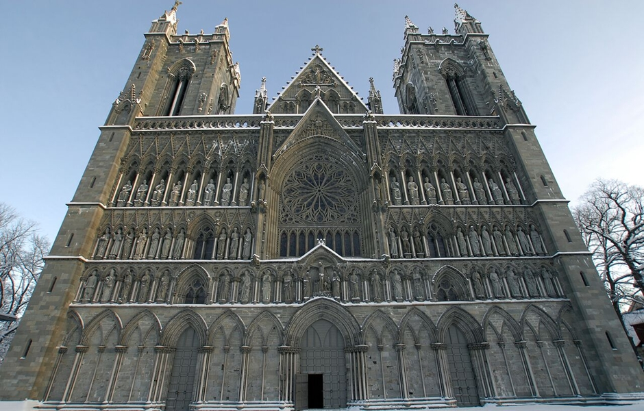 Trondheim cathedral.