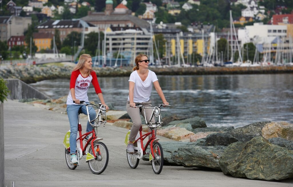 Enjoy Trondheim by bike.